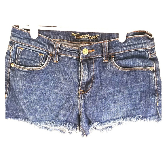 0269c00179 Old Navy Shorts | Womens Frayed Jean | Poshmark